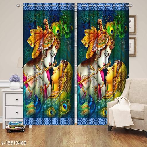 3d Design beautiful  5 FT single curtain