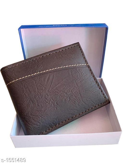 Stylish Leatherette Men's Wallet