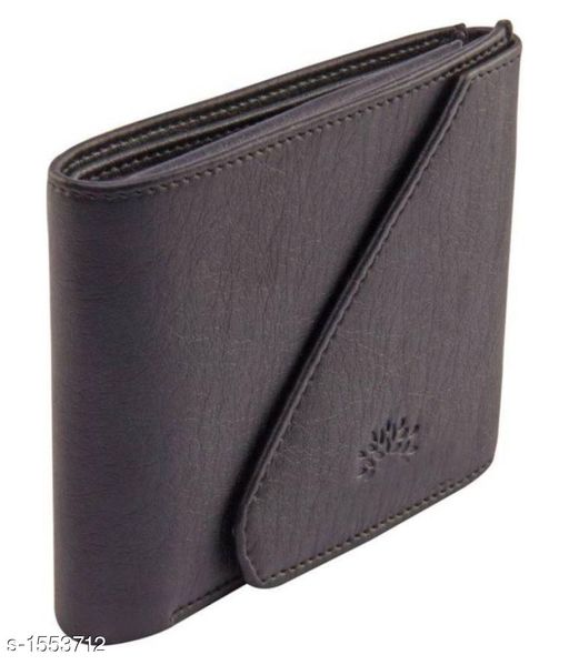 Stylish Men's Grey Wallet
