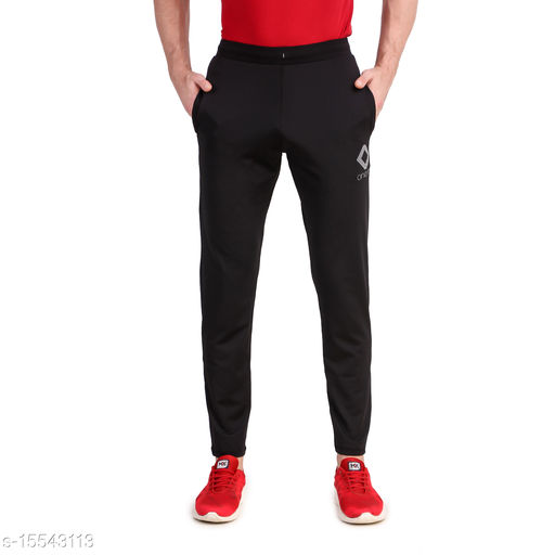Men's Gym & Yoga Wear Stretchable Trackpant with Two Zipper Pockets