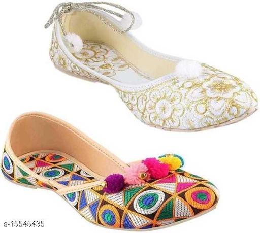 Trendy Women's Multicolor Juttis