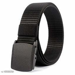 Black Fabric Belt