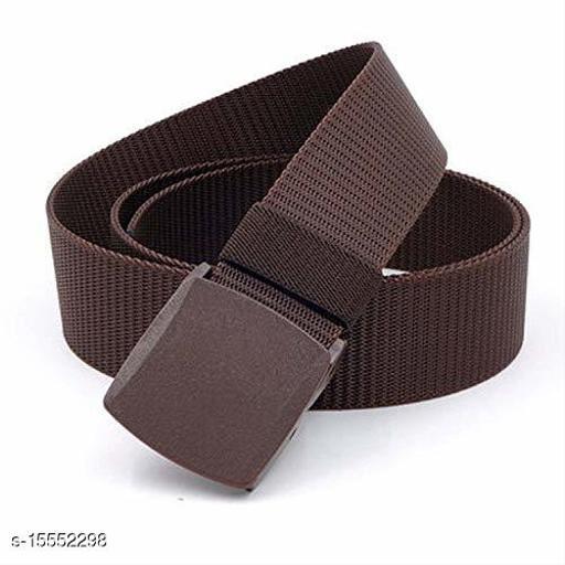 Brown Nylon Belt