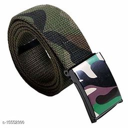 Men Casual, Evening, Formal Multicolor Nylon Belt