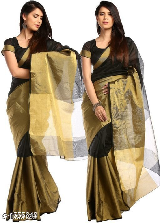 Sarees Pretty South Silk Saree  *Fabric* Saree - South Silk, Blouse - South Silk  *Size* Saree Length - 5.3 Mtr, Blouse Length - 0.70 Mtr  *Work* Golden Printed  *Sizes Available* Free Size *   Catalog Rating: ★4 (11)  Catalog Name: Inaaya Embroidered Kasavu Silk Sarees CatalogID_202244 C74-SC1004 Code: 484-1555640-