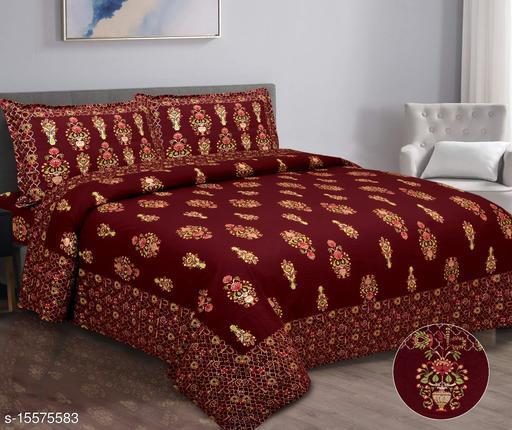 Sanvee Japuri Printed Bedsheet