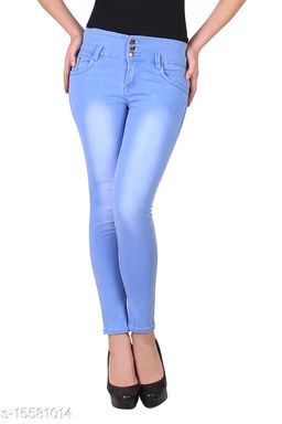 Royce Trend High Stretchable Jean Blue  Color
