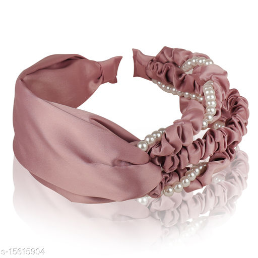 Vembley Pink Plastic Pastel Princess Hairband