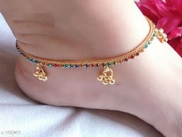 Charming Alloy Women's Anklet