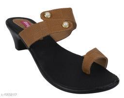 Attractive Women's Brown Heels