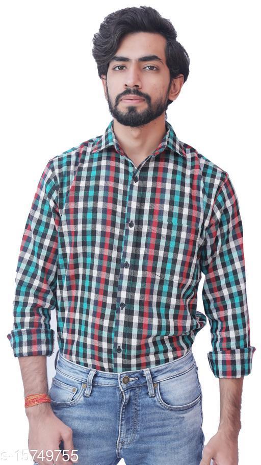 Nakh Men's Cotswool Casual Full Sleeves Multicolor Shirt | Spread Collar Shirt For Men & Boys