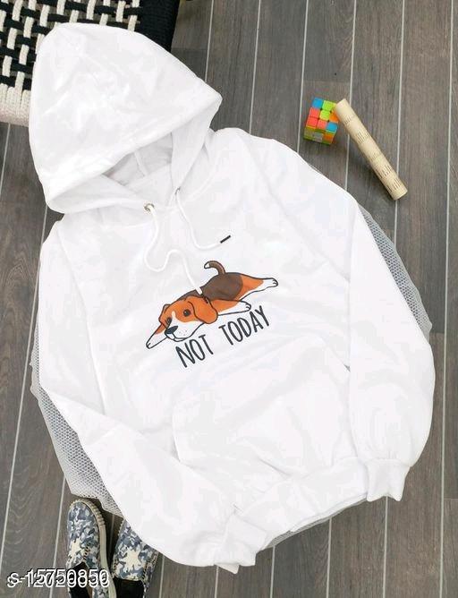 Trendy Printed Hoodie