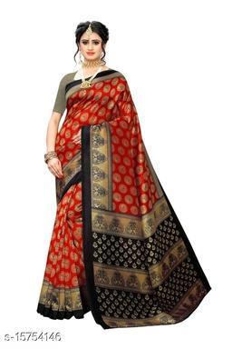Trending Art Silk Printed Saree