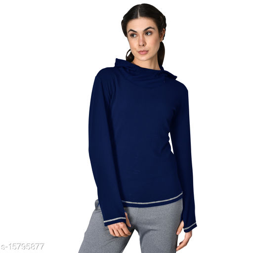 GENSHI Women Sports Training Hooded Pullover Designed for all Fitness Activities & Athleisure.