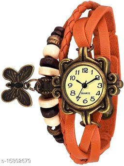 Analogue Orange Dori Girl's Watch