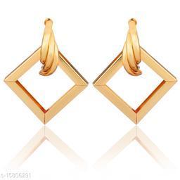 Vembley Gold Diva Stylish Earring