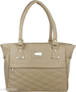 Trendy Women's Grey PU Messenger Bags