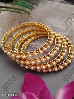 Pearl Beads Bangles