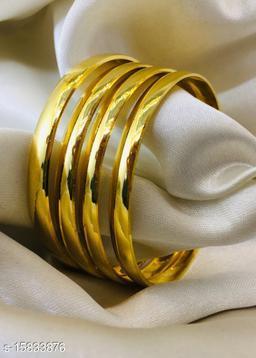 Plain Gold Plated Bangles