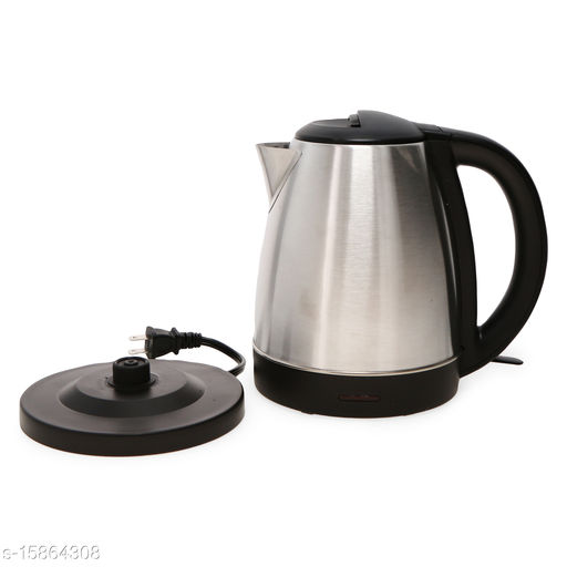 STORE Fast Boiling Tea Kettle Cordless, Stainless Steel Finish Hot Water Kettle – Tea Kettle, Tea Pot – Hot Water Heater Dispenser Electric Kettle(1.8l)