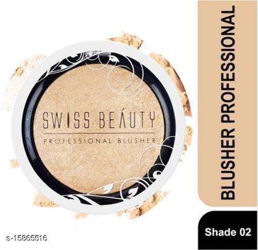 Swiss Beauty BLUSHER PROFESSIONAL SB-802 02-ChampagneGold (ChampagneGold)