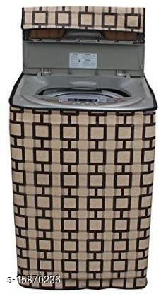 """Dream Cure Portable Washing Machine Cover ,Top Load Washer Dryer Cover ,Waterproof,Full-Automatic /Wheel Washing Machine Cover For 5kg (M(21""""21""""33)),( Made In India )."""