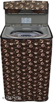 """Dream Cure Portable Washing Machine Cover ,Top Load Washer Dryer Cover ,Waterproof,Full-Automatic /Wheel Washing Machine Cover For 6kg (M(23""""23""""35)),( Made In India )."""