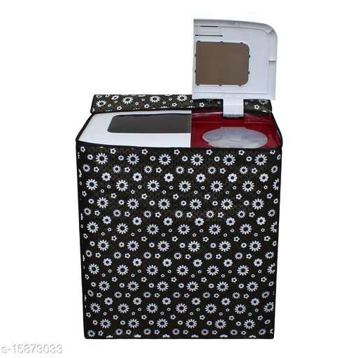 """Dream Cure Portable Washing Machine Cover ,Sami Automatic Washer Dryer Cover ,Waterproof,Full-Automatic /Wheel Washing Machine Cover For 7 kg (M(24""""24""""36))"""