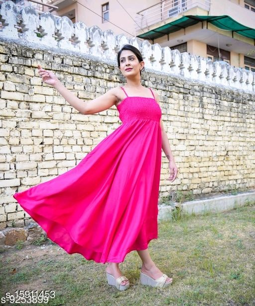 Women Rayon Maxi Kurta Solid Off-Shoulder Kurti