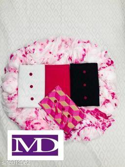 RUDRA ENTERPRISE PRESENTS BEAUTIFULL 3 TOP DRESS FEBRIC WITH NASMIN DUPATTA