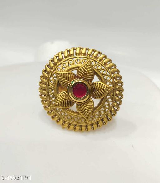 Ethnic Look Fingure Ring  DERD1053