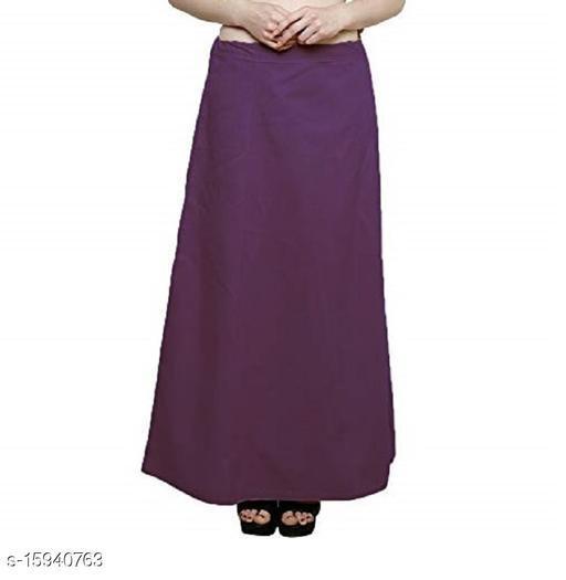 Cotton Petticoat-Dark Purple-7 Part(Pack of 1)