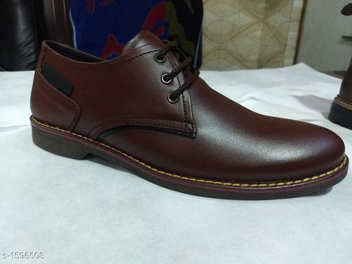 Formal Shoes Trendy Men's Formal  Shoe  *Material* Outer  *IND Size* IND - 6, IND - 7, IND - 8, IND - 9, IND - 10  *Description* It Has 1 Pair Of Men's Formal Shoes  *Pattern* Solid  *Sizes Available* IND-6, IND-7, IND-8, IND-9, IND-10 *   Catalog Rating: ★3.3 (4)  Catalog Name: Trendy Men's Leather Formal Shoes Vol 1 CatalogID_207421 C67-SC1236 Code: 047-1596508-