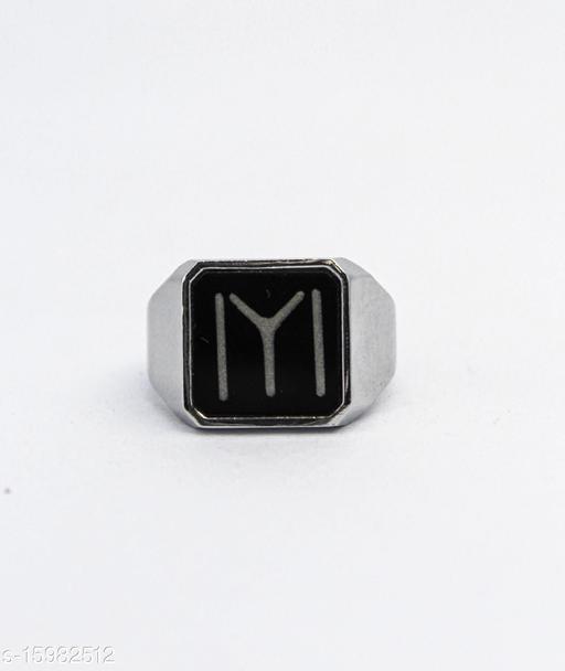 Ertugrul Gazi Ring For Mens kayi Qabila heay metal Silver IYI Brass Silver Plated Ring