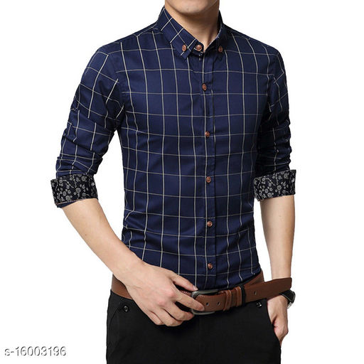 UD FABRIC Men's Casual Cotton Shirt