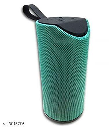 Innotek TG-113 Super Bass Splash-Proof Bluetooth Speaker with Inbuilt Mic, USB, TF Card and AUX Slot Easily Connect with All Bluetooth Enabled Devices Green