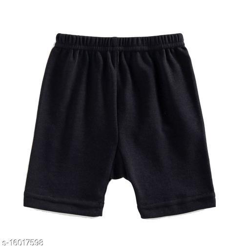 Women Boy Shorts Black Cotton Panty