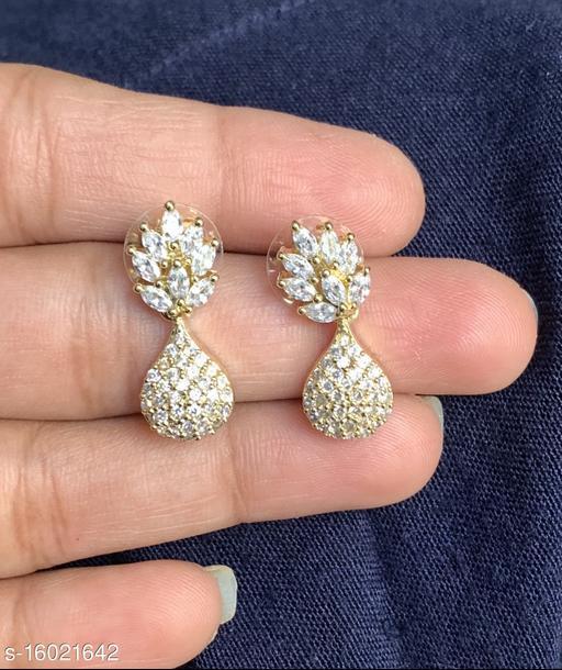 Ruby Diamond Earrings For Woman
