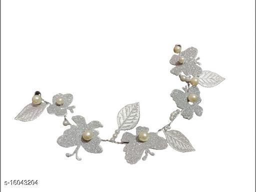 Innovative Craft House - Butterfly Gajra Hair accessories - Foam sheet material