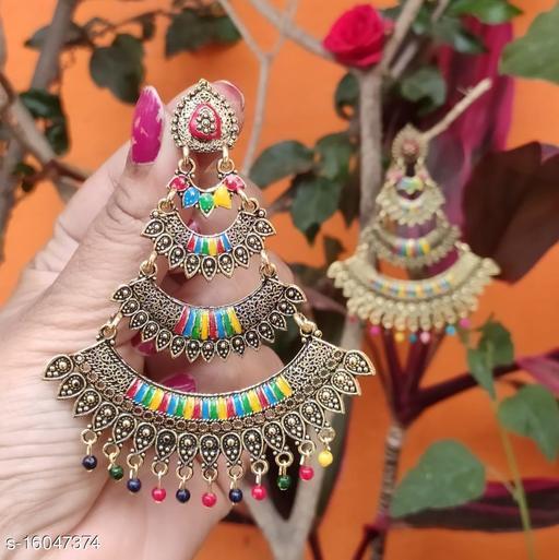 Meenakari Passa Earrings