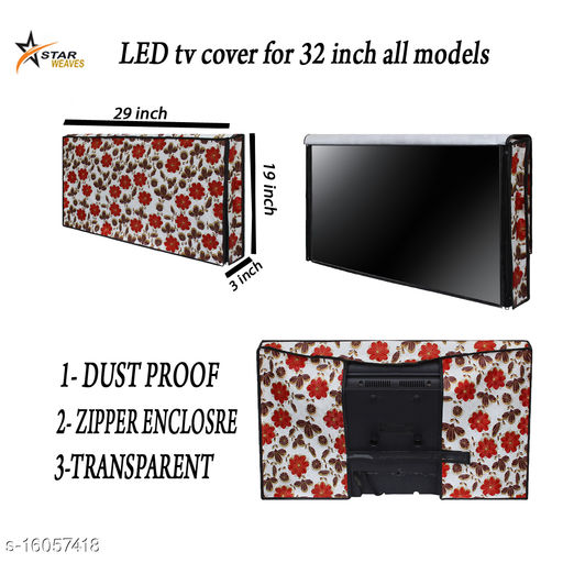Star Weaves Printed led tv Cover for Lloyd 32 inches led tvs