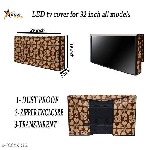 Star Weaves Printed led tv Cover for Sanyo 32 inches led tvs