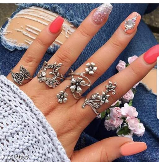 Silver Women Rings