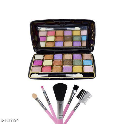 Makeup Kits Premium Choice Makeup kit Combo  *Product Name* Eyeshadow kit with free Makeup Brush Kit  *Product Type* Eyeshadow kit & Makeup Brush Kit  *Product Description*