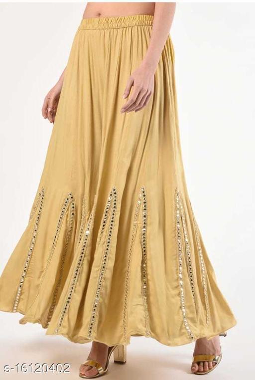 beige color reyon sharara