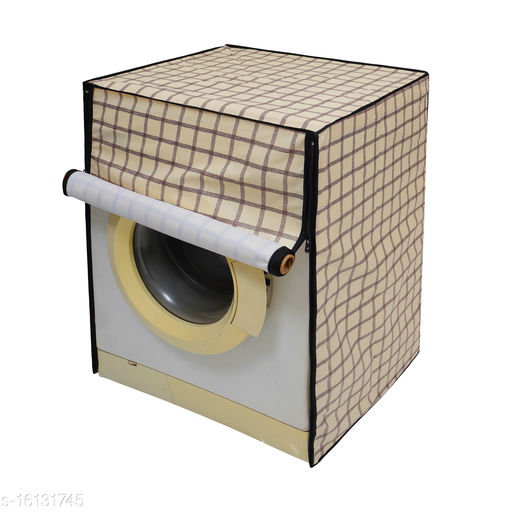 Glassiano Washing Machine Cover for LG FHT1409SWS Fully Automatic Front Load 9 kg, CAM10