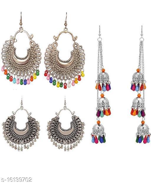 Elite Oxidized Beautiful Earrings