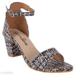 Olive Fashion Block Heels