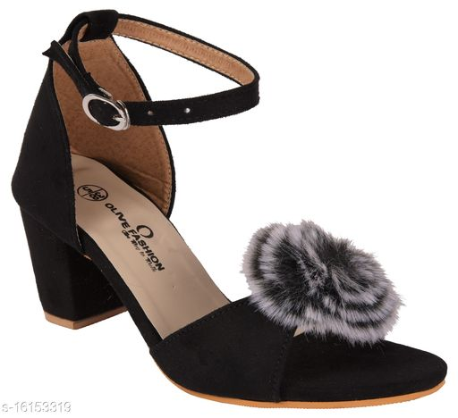 Classy Women's Black Heels