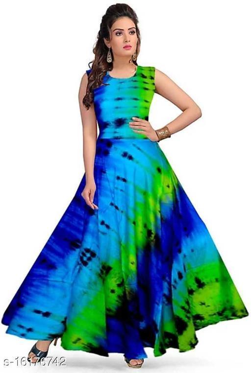 Pretty Glamorous Women gown